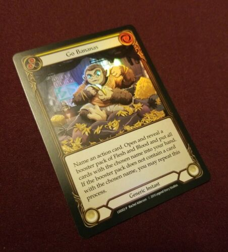FOIL PROMO NM-Mint Flesh and Blood L55002-P Go Bananas