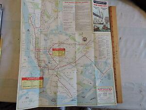 Nyc Subway Map Ebay.Details About Orig 1960 New York City Nyc Subway El Transit Train Map