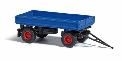 sin barras de volteo : 53000 remolque IFA HW 60 Busch 1//87 neumáticos de globo azul H0