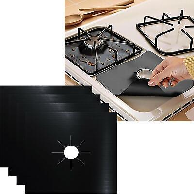 4 x Hob Stove Top Cooker Cover Reusable Protector Range Liner Non Stick Gas Mat