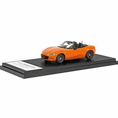 1//43 HI STORY MAZDA ROADSTER MX5 handmade car model Diecast Orange