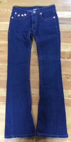 Tour True Flare World Religion Low Jeans Authentic 30l 26w Womens lavaggio Rise scuro w464Iqg