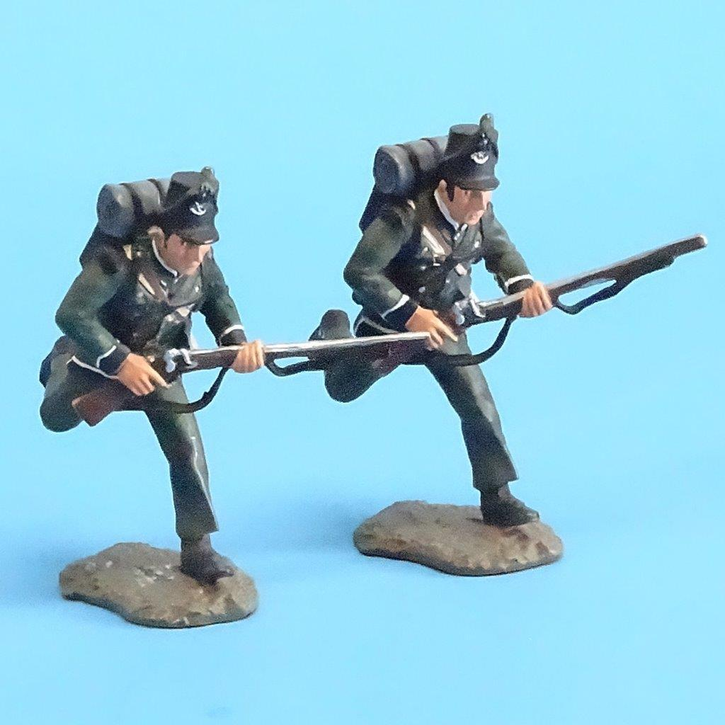 CORD-N0101 - 95th Rifles - Troopers Advancing (2 Pieces) - Napoleonics - Britain