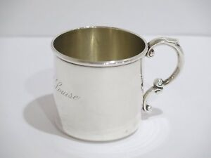 9b74f3dbe6c6 2 5 8 in - Sterling Silver Watson Co. Antique American Baby Cup