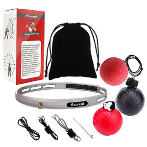 3-Pack-Boxing-Fight-Ball-With-Head-Band-Reflex-Reaction-Speed-Training-Muscle
