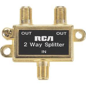 RCA VH47N 2-Way Signal Splitter - 900 MHz