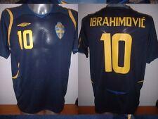 Sweden Umbro Adult Large ZLATAN IBRAHIMOVIC Shirt Jersey Football Soccer PSG Top
