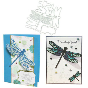 Dragonfly-Metal-Cutting-Dies-Stamps-Paper-Cards-Templage-Stencil-DIY-Craft-Die