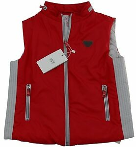 d67afa5be Armani Junior Boys Puffa Jacket 100% Genuine 6yrs 118cm Red Orange ...