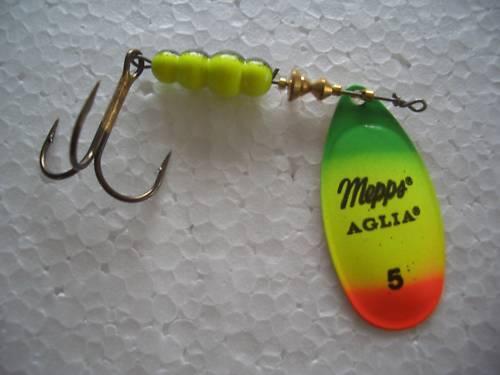 taille 5 avec 11g MEPPS Aglia tiger