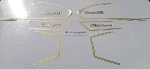 Benelli 504 654 decals autocollants graphics adesivi aufkleber graphics