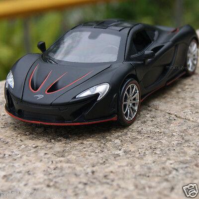 Mclaren P1 1 32 Model Cars Sound Light Alloy Cast Toys Car Gifts Black