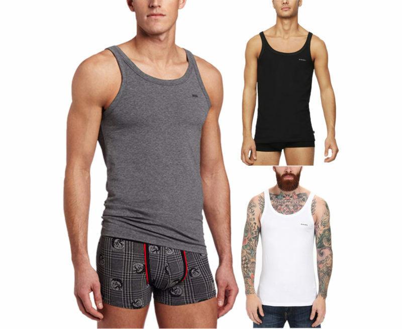 DIESEL BALE SINGLE Mens Tank Top Gym Muscle Bodybuilding Sleeveless Vest 1 Pack