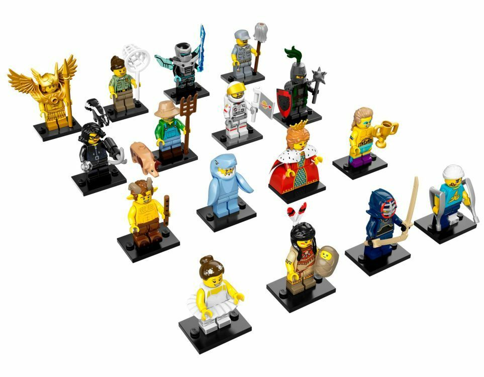 LEGO MINIFIGURE Serie 15 Completa Lego  71011 Minifigures Lego  dégagement