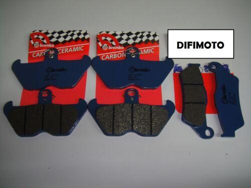 PASTICCHE BREMBO ANTERIORI 07BB2407 POSTERIORI 07BB2809 BMW R 1100 GS 1996