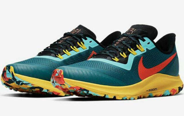 Nike Air Zoom Pegasus 36 Trail Running Shoes Hiking Mens ACG Geode Multi Sizes