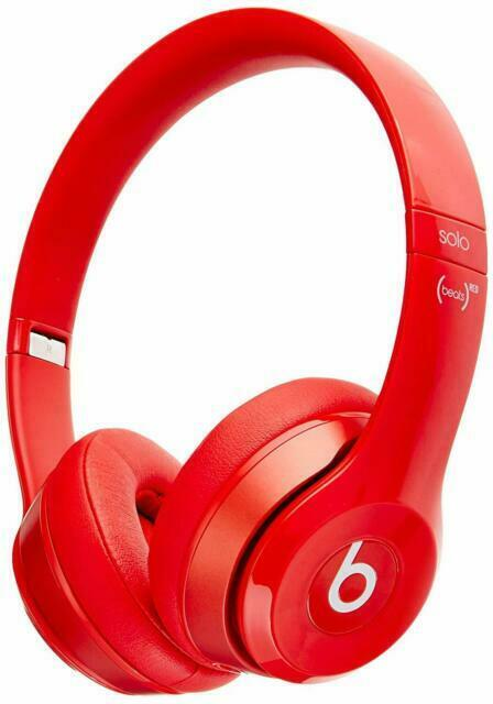 Beats By Dr Dre Solo2 Headband Headphones Red For Sale Online Ebay