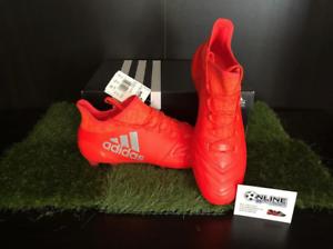 Adidas X16.1 FG AG Cuero Solar Rojo Plata hi-res rojo US 9.5, (1 3)