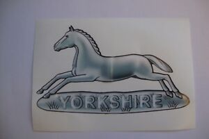 WEST-YORKSHIRE-REGIMENT-STICKER-X-2-BRITISH-ARMED-FORCES-MILITARY-5-034-approx