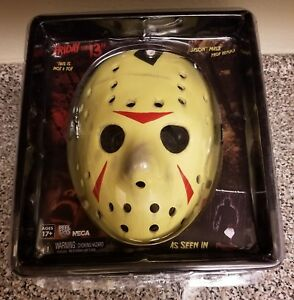 NECA-JASON-FRIDAY-THE-13TH-PART-3-MASK-PROP-REPLICA-NEW