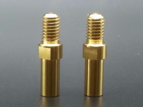 2pcs Titanium Ti Golden Brake Post V-Brake Bosses M8x1.25mm V Brake Seat Bolts