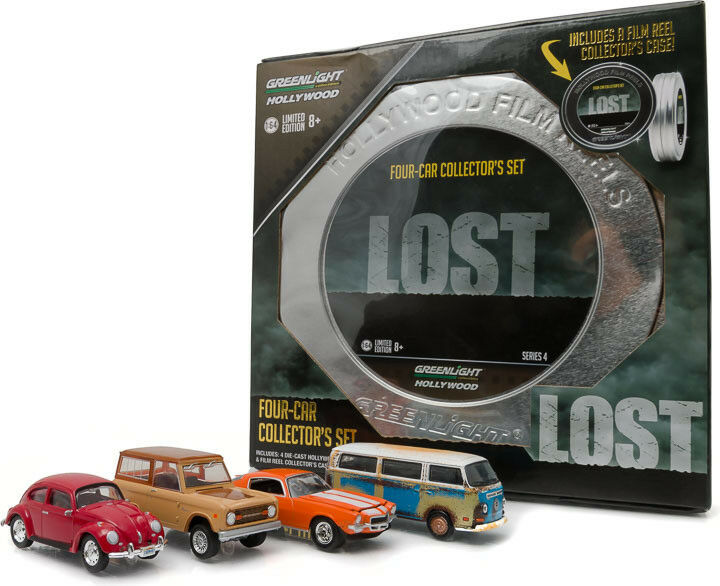 GREENLIGHT 59040A - 1 64 HOLLYWOOD FILM REELS LOST TV SERIES CAR COLLECTION