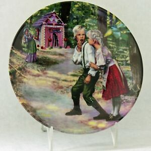 Hansel and Gretel Brothers Grimm 200th Birthday 1981 Collector Plate Bavaria