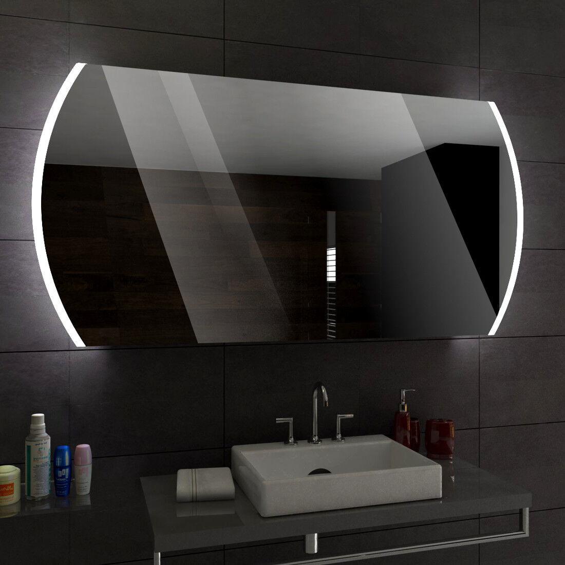Baltimore éclairé del Miroir salle de Bain Led personnalisé Größe versions