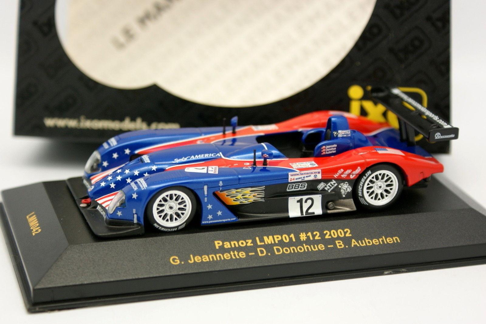 Ixo 1 43 - Panoz LMP01 Nº12 Le Mans 2002