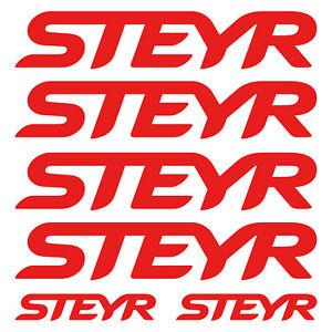 STEYR-aufkleber-sticker-traktoren-tractor-6-Stucke-Pieces