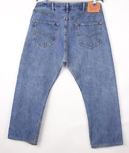 Levi's Strauss & Co Herren 501 Gerades Bein Jeans Größe W38 L26 BCZ72