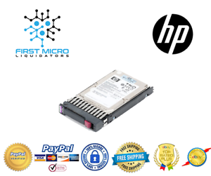 581311-001 HP 600GB 6G SAS 10K rpm SFF Dual Port Hard Drive 581286-B21