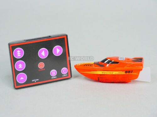 Details about  /Remote Control RC Micro BOAT MINI RC Boat RC Toy Extra Batteries  Green