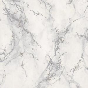 Rasch Marble Pattern Wallpaper Faux Effect Modern Metallic