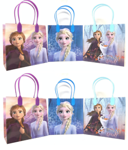 Disney-Frozen-Elsa-Anna-6-034-Birthday-Goody-Gift-Loot-Favor-Bags-Party-Supplies