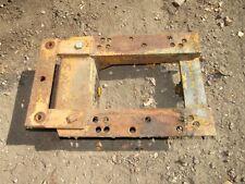 Schwartz Mm Tractor Wide Front Axle Mounting Plate Bracket Minneapolis Moline U