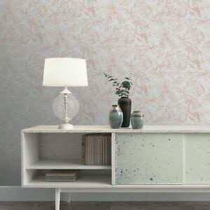Sankuru-Papier-Peint-Gris-Dore-Rose-164502-Salons-Exotique-Oiseaux