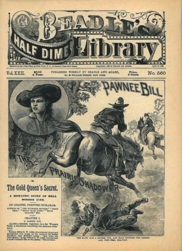 Pawnee Bill Comic Cover reproducción Art Print A4 A3 A2 A1