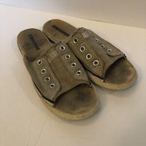 Converse Slides Sandals Tan Men's 9.5