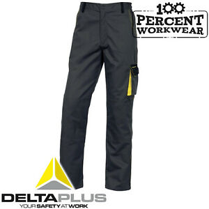 Builders-Winter-Warm-Thermal-Lined-Combat-Cargo-Work-Trousers-Knee-Pad-Pockets