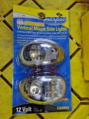 Marpac PAIR  LED Advantage Vertical Mount Side Lights 7-6559