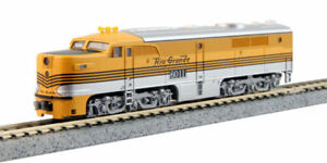 KATO-1764107-N-Scale-PA-1-D-amp-RGW-6011-Locomotive-DCC-Ready-176-4107-NEW