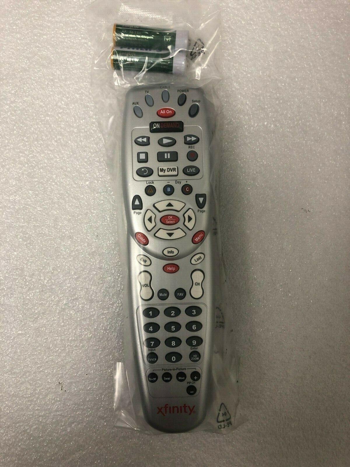 NEW COMCAST XFINITY Motorola Custom DVR 3-Device Universal Remote