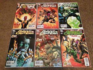 Green-Lantern-21-22-23-24-25-Sinestro-Corps-War-Special-1-VF-NM-Lot-Complete-DC