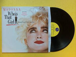 Madonna-Who-039-s-That-Girl-Colonna-Sonora-Originale-Sire-925-611-1-Ex-Vinile-LP