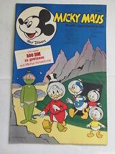 Micky Maus 1970 Nr. 42 mit MMk-Zeitung mit Sammelbid Ehapa Walt Disney KR-P