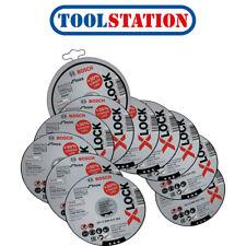 Bosch X-LOCK Standard for Inox Straight Cutting 115 x 1 x 22.23mm