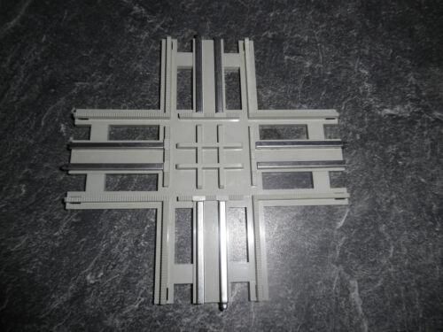 1 Kreuzung grau Lego 12 V Eisenbahn