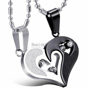 His-and-Hers-Stainless-Steel-I-Love-You-Heart-Men-Women-Couple-Pendant-Necklace