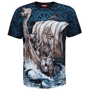 T Vikings Viking Mens Longboat Norseman shirt Wrap wqCEn1xq7